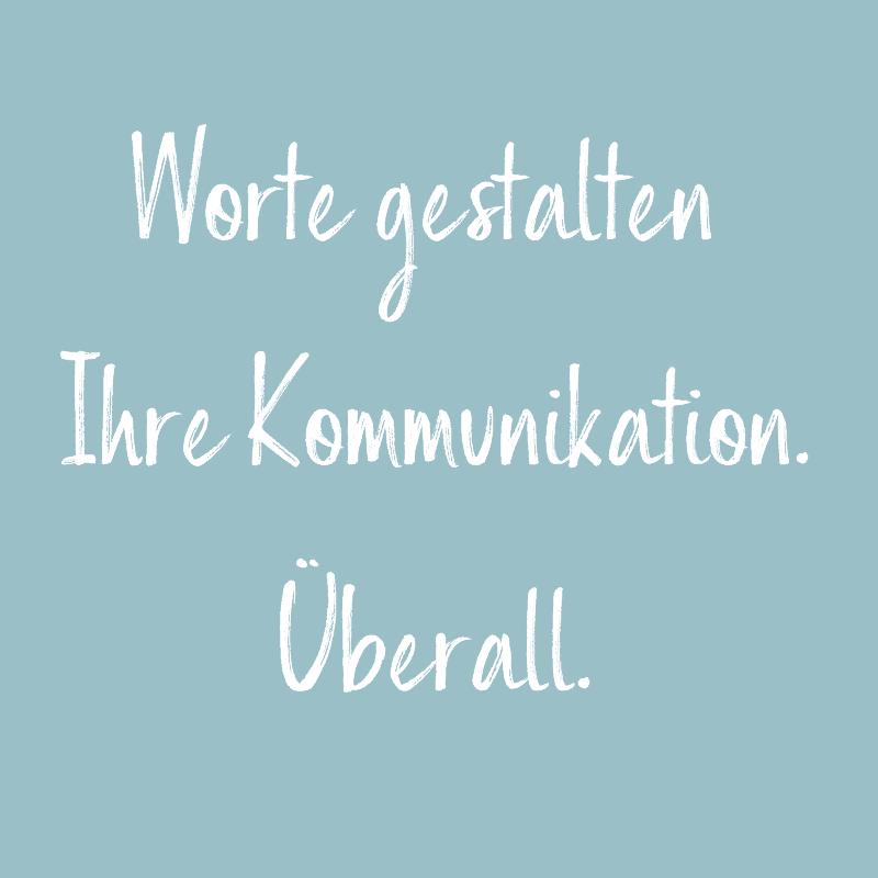 Worte gestalten Ihre Kommunikation - Simone Maader, Texte und Content-Strategie
