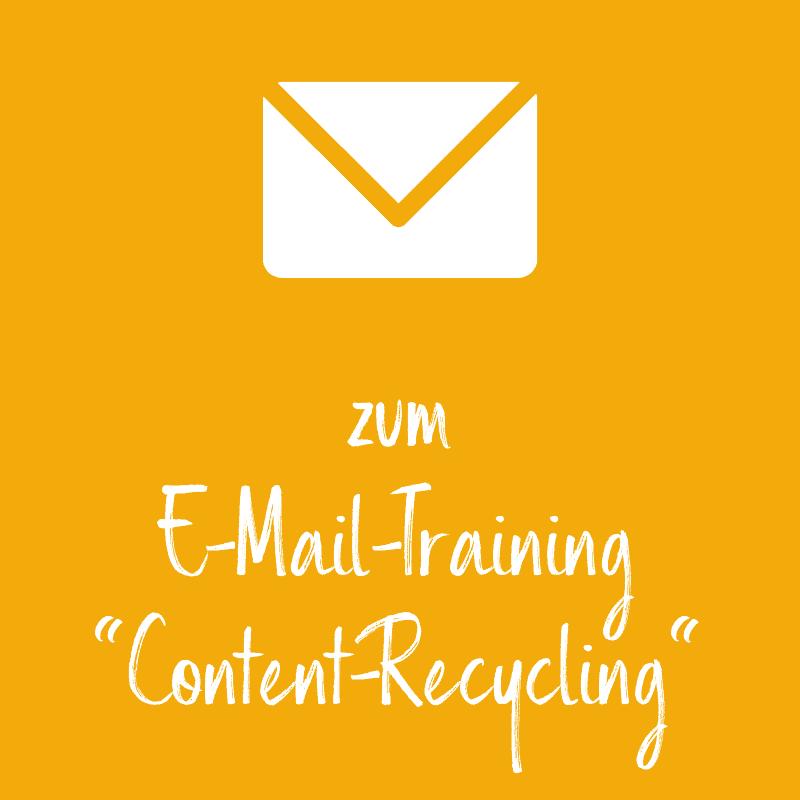 Kachel Website Training Content Recycling